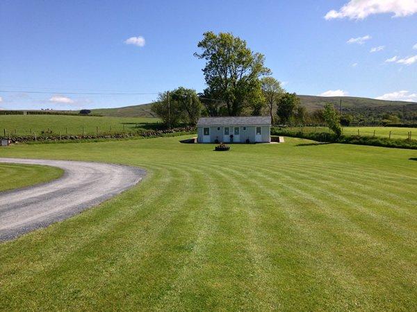 Shower facilities at Tyn Rhos Caravan Park in Snowdonia North Wales
