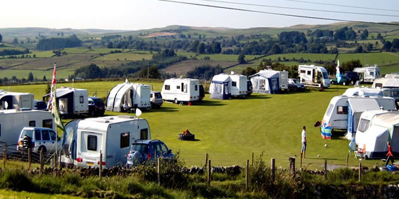 Excellent caravan and camping facilities at Tyn Rhos Caravan Park in Snowdonia North Wales